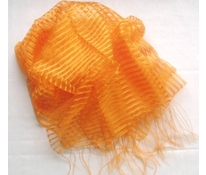 Transparent scarves - with stripes