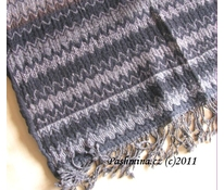 "Wool shawl, ""cik cak"""