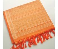 Premium Tanchoi oranžový 3
