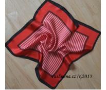 Červené a bílé proužky