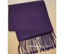 Shawl, purple III
