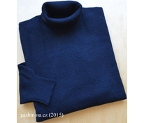 Black roll-neck with long sleeves, size M