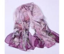 Pareo fialové lilie