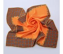 Puntíky a kostka oranžové