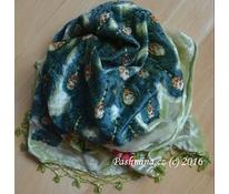 Šátek páv zelenkavý