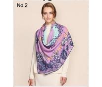 Šátek ananas fialkový