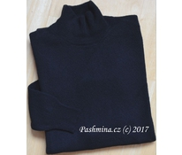 Prodloužený svetr černý, vel. M