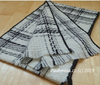 Checkered shawl - LUX - 2 colors