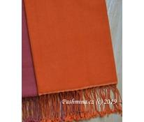 Šál oranžový