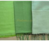 Hedvábný šál zelený