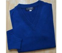 Pánská vesta s dl. rukávem modrá, vel. L