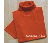 Rolák s kr. rukávem oranžový, vel. XL